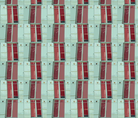 Shuttered Love fabric by susaninparis on Spoonflower - custom fabric