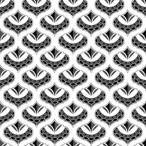 Admiral Black fabric by joanmclemore on Spoonflower - custom fabric