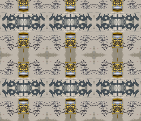 Thrasher curtains fabric by susaninparis on Spoonflower - custom fabric