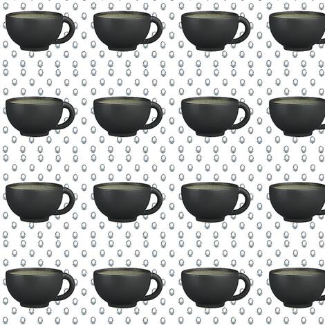 espress cup fabric by dreamskyart on Spoonflower - custom fabric