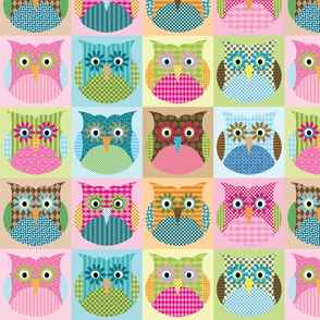 Alexander Owls - multi colorway