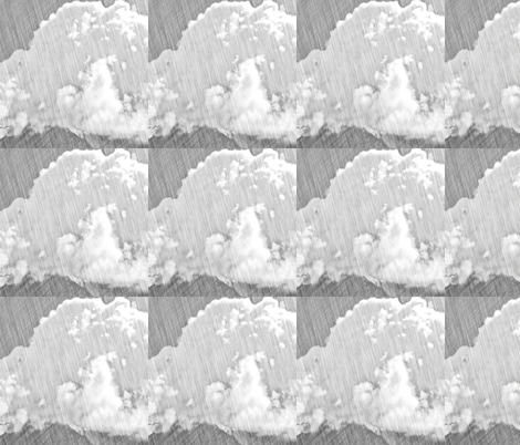 Pencil Clouds, L fabric by animotaxis on Spoonflower - custom fabric