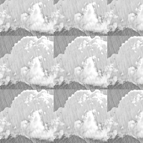 Pencil Cloud, S fabric by animotaxis on Spoonflower - custom fabric