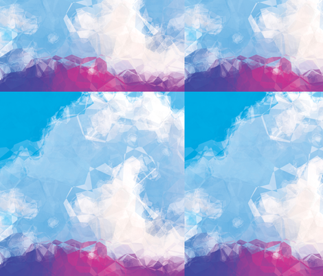 Crumpled Clouds, L fabric by animotaxis on Spoonflower - custom fabric