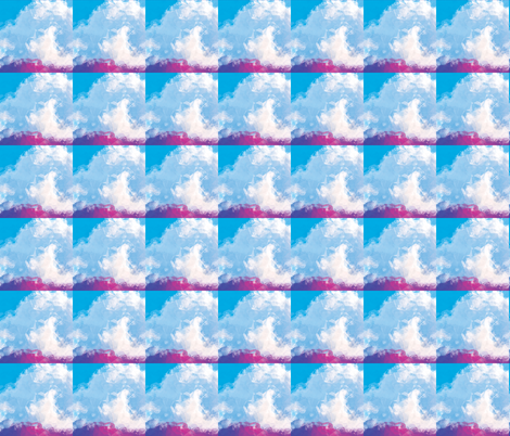 Crumpled Clouds, S fabric by animotaxis on Spoonflower - custom fabric