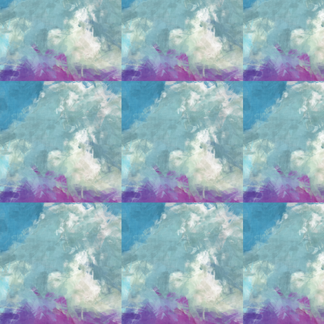 Grunge Clouds, S fabric by animotaxis on Spoonflower - custom fabric