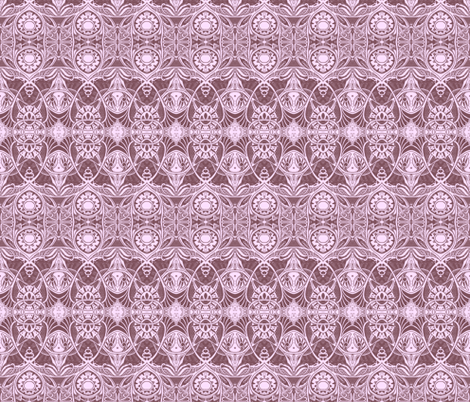 Victorian Gothic (granny shades) fabric by edsel2084 on Spoonflower - custom fabric