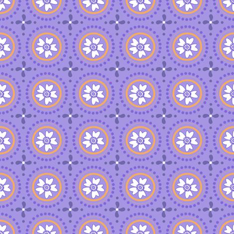 Circlets & Flowers - Sunshine Days -  © PinkSodaPop 4ComputerHeaven.com fabric by pinksodapop on Spoonflower - custom fabric
