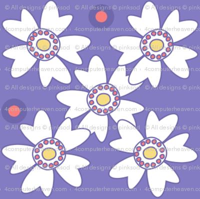 Flower Trellis & Dots! - Sunshine Days - © PinkSodaPop 4ComputerHeaven.com