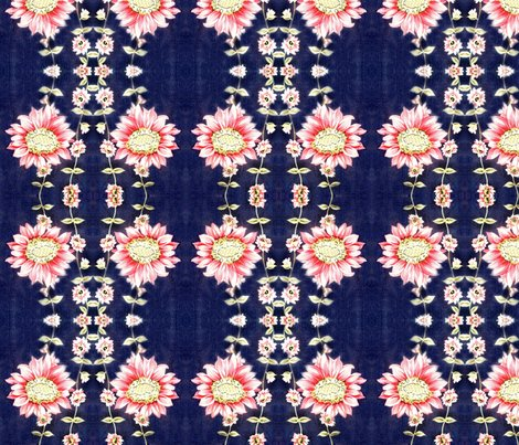 Rrr50ies_vintage_dress_fabric_pink_flowers_on_bright_navy_background_shop_preview