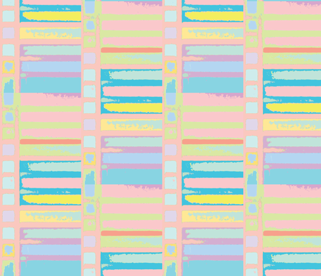 Summer Serape fabric by susaninparis on Spoonflower - custom fabric