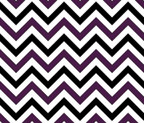 Dirigible (Purple) Chevron fabric by pond_ripple on Spoonflower - custom fabric