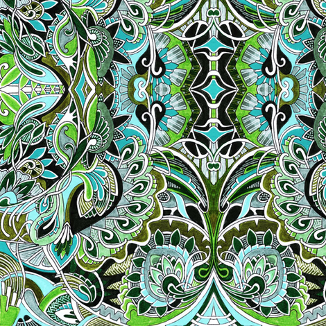 Royal Coil fabric by edsel2084 on Spoonflower - custom fabric