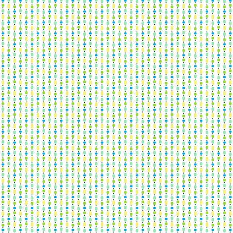 Bead Curtain - Green fabric by inscribed_here on Spoonflower - custom fabric