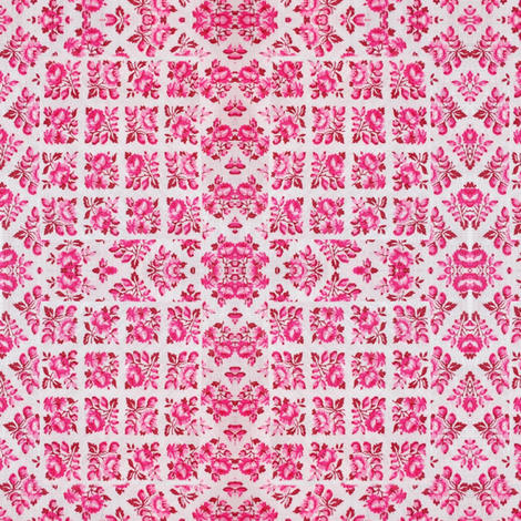 Vintage_Valentine-y_Fabric_digi_quilted_remake_design fabric by vinkeli on Spoonflower - custom fabric