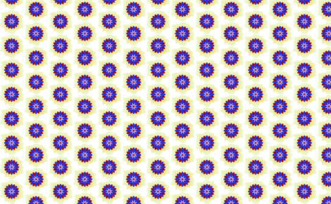 Electric Flower fabric by sewbiznes on Spoonflower - custom fabric