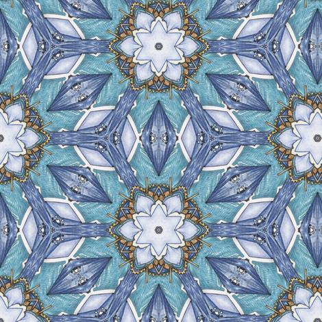 Challabah's Flowers fabric by siya on Spoonflower - custom fabric