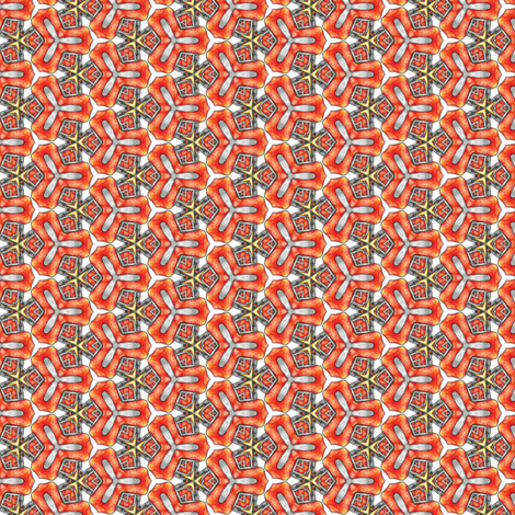 Chiral's Triangles fabric by siya on Spoonflower - custom fabric