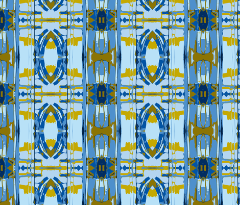 Call your Mom Today fabric by susaninparis on Spoonflower - custom fabric