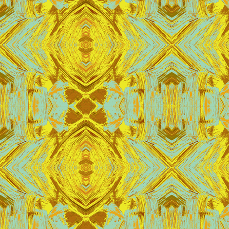 Goldilocks' Bling-bling fabric by susaninparis on Spoonflower - custom fabric