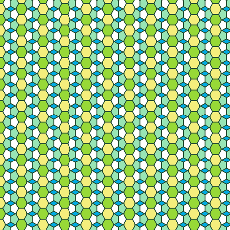 Green Glass fabric by inscribed_here on Spoonflower - custom fabric