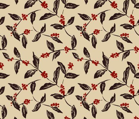 Cafeeiro fabric by shirayukin on Spoonflower - custom fabric