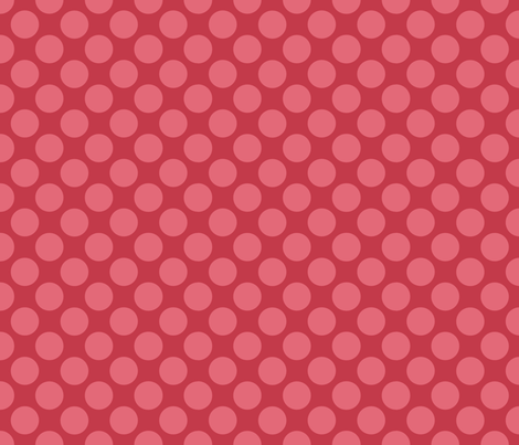 Sleepy_Baby_Girl_Polkadots fabric by jpdesigns on Spoonflower - custom fabric