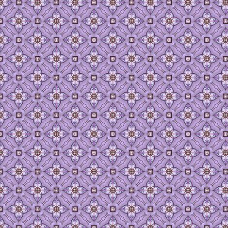 Gloria's Curlflower fabric by siya on Spoonflower - custom fabric