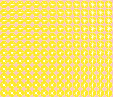 pink_lemonade fabric by mainsail_studio on Spoonflower - custom fabric