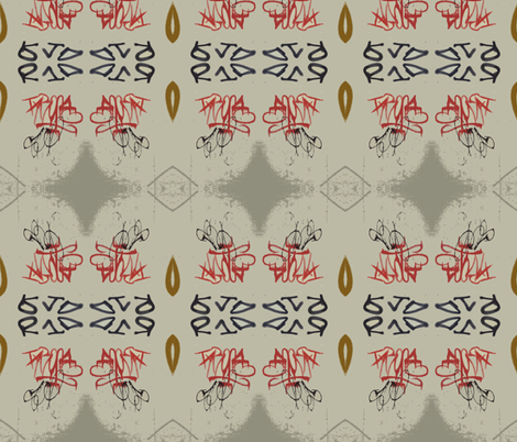 Reading You Loud and Clear fabric by susaninparis on Spoonflower - custom fabric