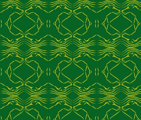 Duck hound fabric by lesser_george on Spoonflower - custom fabric
