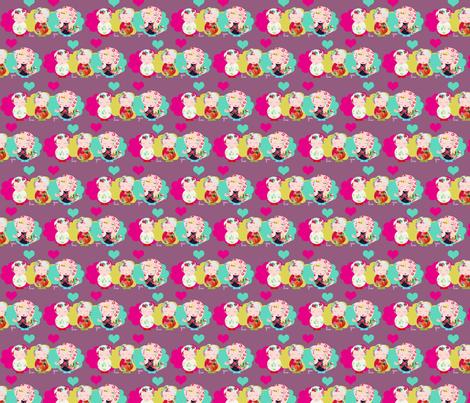 I love you fabric by rita_acapulco on Spoonflower - custom fabric