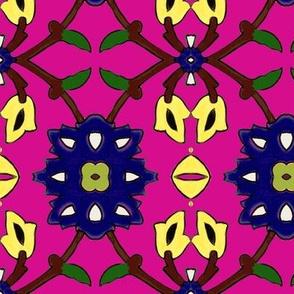 flowertile cyclam