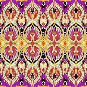 So Sari (gold/purple)