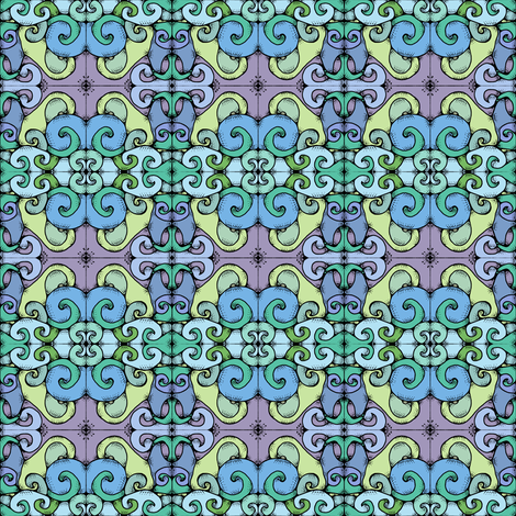 Curves fabric by amyelyse on Spoonflower - custom fabric