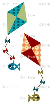 kite fishing