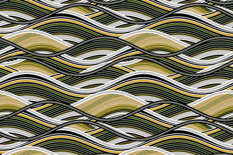 Tidal Wave fabric by joanmclemore on Spoonflower - custom fabric