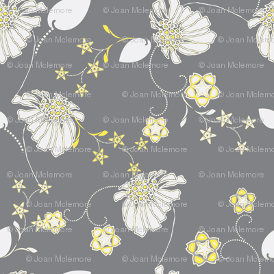 Daisy Chain Blue and Gray-ch