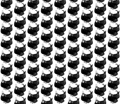 cockeral2 fabric by jaguarsnail on Spoonflower - custom fabric