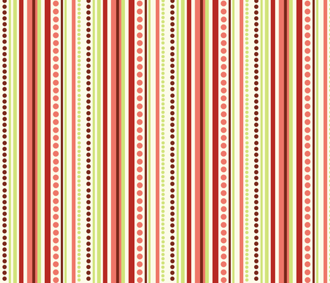Sweet Tweets Stripes fabric by jpdesigns on Spoonflower - custom fabric
