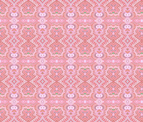 Here's looking at you... orange background by Su_G fabric by su_g on Spoonflower - custom fabric