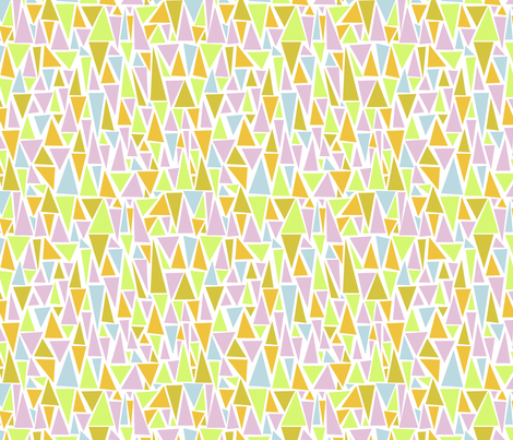 little rooftop fabric by mondaland on Spoonflower - custom fabric