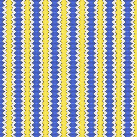 Sabini's Jagged Stripe fabric by siya on Spoonflower - custom fabric