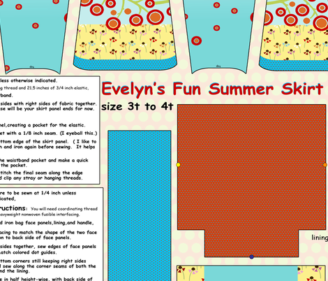 evelyns summer skirt fabric by littlerhodydesign on Spoonflower - custom fabric