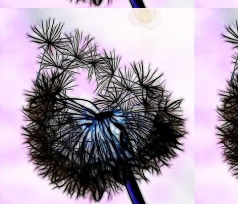 dandelion swatch fabric by kalona_creativity on Spoonflower - custom fabric