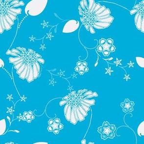 Island Blue Daisy