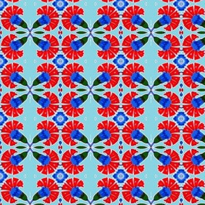 Tahtakale Carnation-turquoise