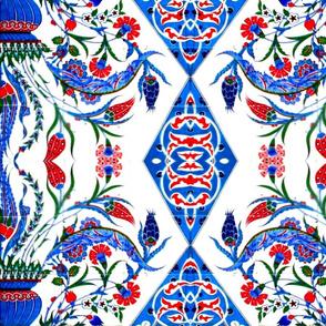 Tahtakale Flowermix Cotton