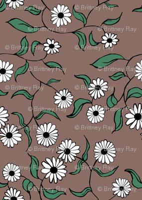 Floral Mocha