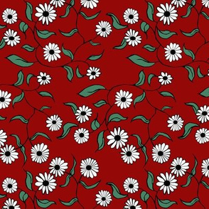 Floral Red